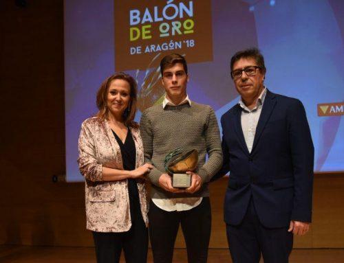 Alberto Soro es el nuevo Balón de Oro aragonés 2018