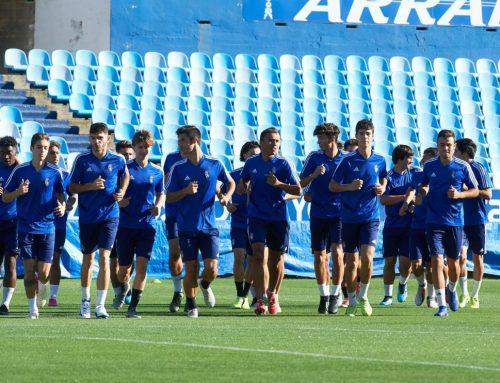 El Real Zaragoza Juvenil DH se prepara para recibir al Lyon en la Uefa Youth League