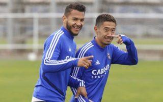 Real Zaragoza entrenamientos
