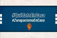 Real Zaragoza Quédate en casa