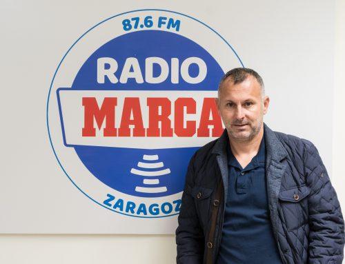 """Javi Moreno: """"El objetivo del Ejea sigue siendo meterse entre los tres primeros"""""""