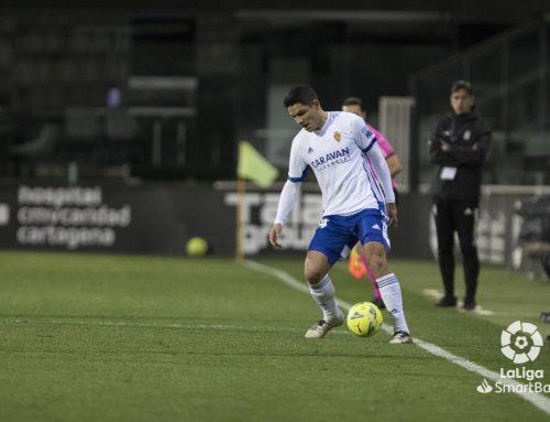 La falta de gol y otra acción a balón parado condenan al Real Zaragoza (1-1)