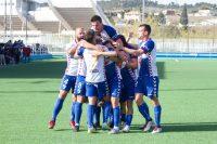El CD Ebro celebra un gol. FOTO: CD Ebro