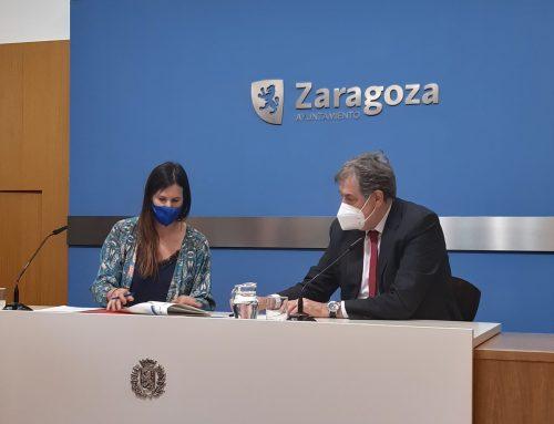El Ayuntamiento de Zaragoza e Ibercaja renuevan su colaboración para los Trofeos Ciudad de Zaragoza
