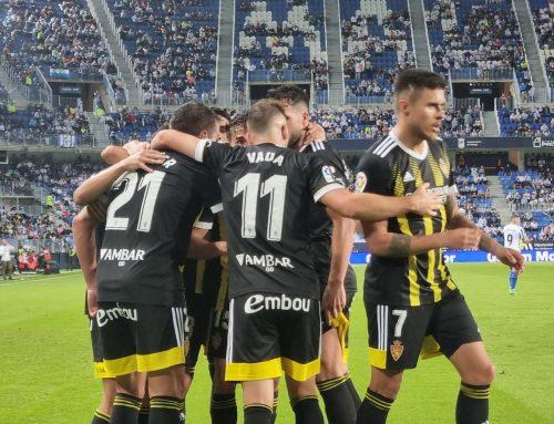 El Real Zaragoza se lleva un punto de Málaga y se convierte en el rey del empate