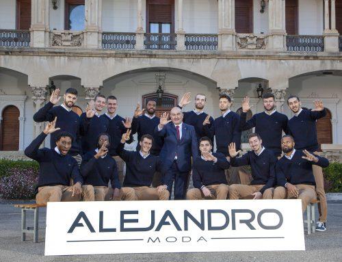 El Casademont Zaragoza presenta su nuevo vestuario de la mano de Alejandro Moda