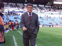 Radimir Antic como entrenador en La Romareda. Fuente: Heraldo de Aragón