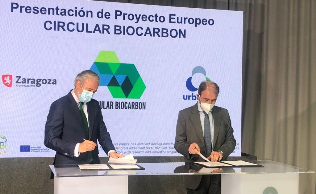Zaragoza acogerá la primera biorrefinería urbana de Europa a escala industrial para la obtención de nuevos materiales a partir del residuo orgánico