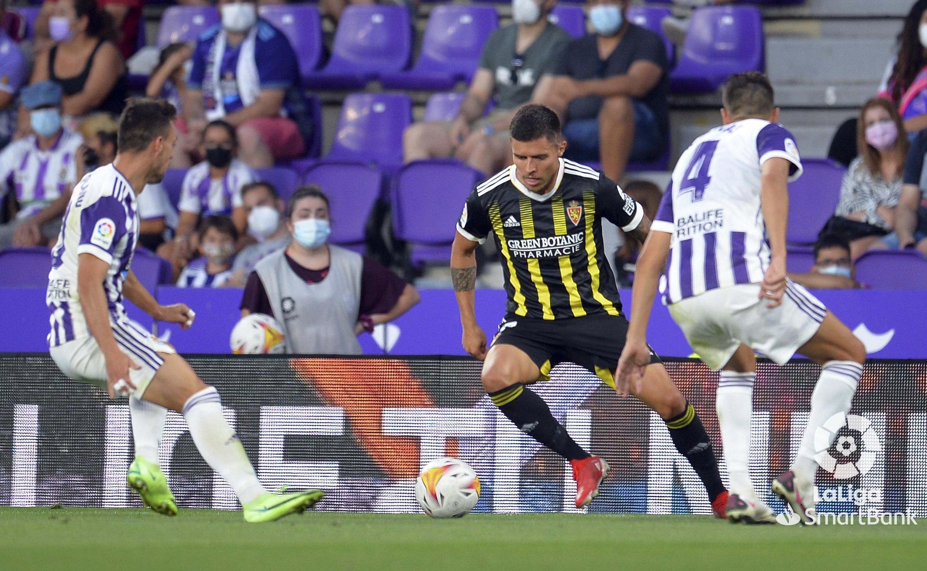 El Real Zaragoza perdona y acaba perdiendo en Pucela