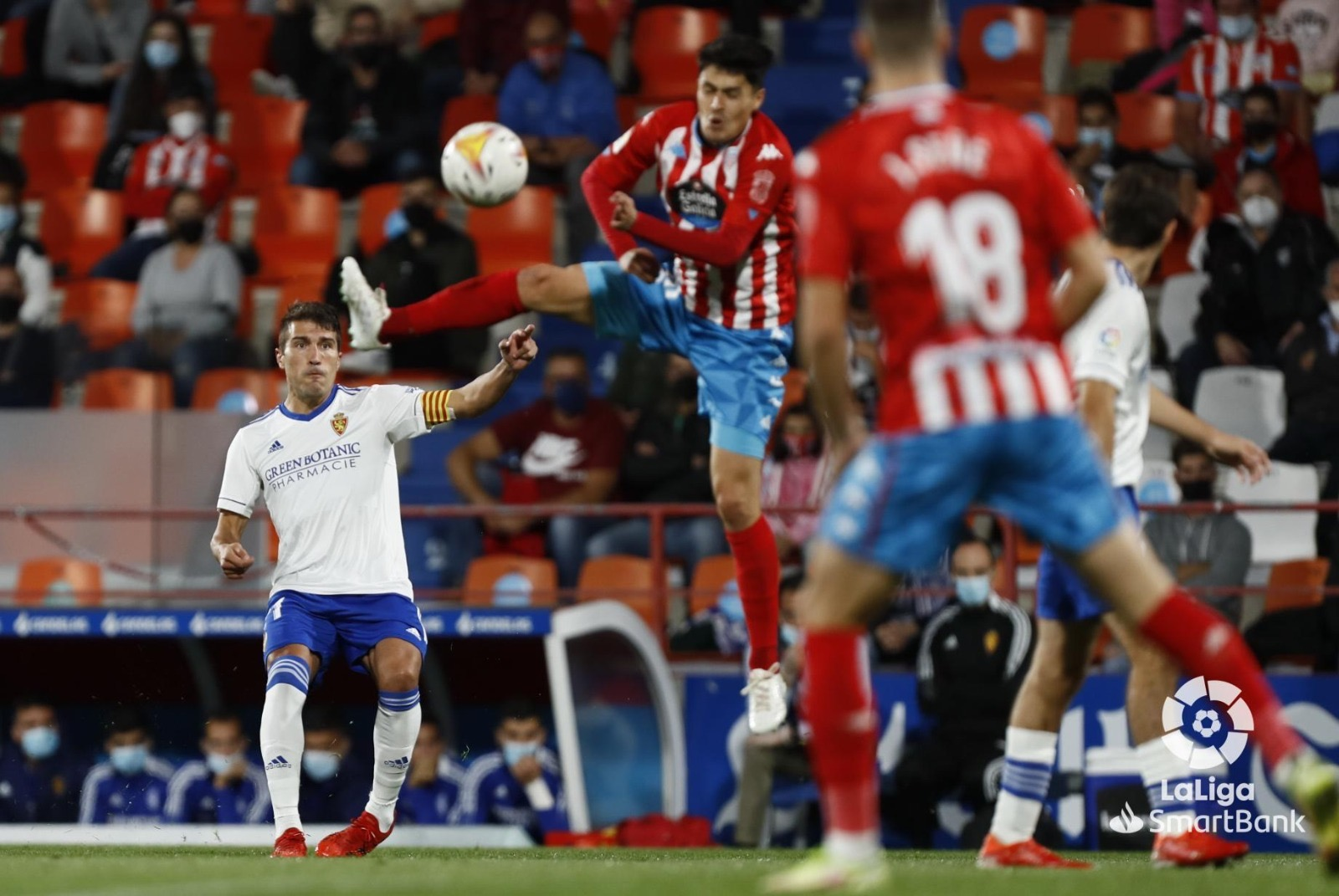 Disputado empate para el Real Zaragoza en el Anxo Carro