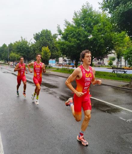 El atleta zaragozano, Fernando Zorrilla, vuelve a ser convocado por la Selección Española de Triatlón