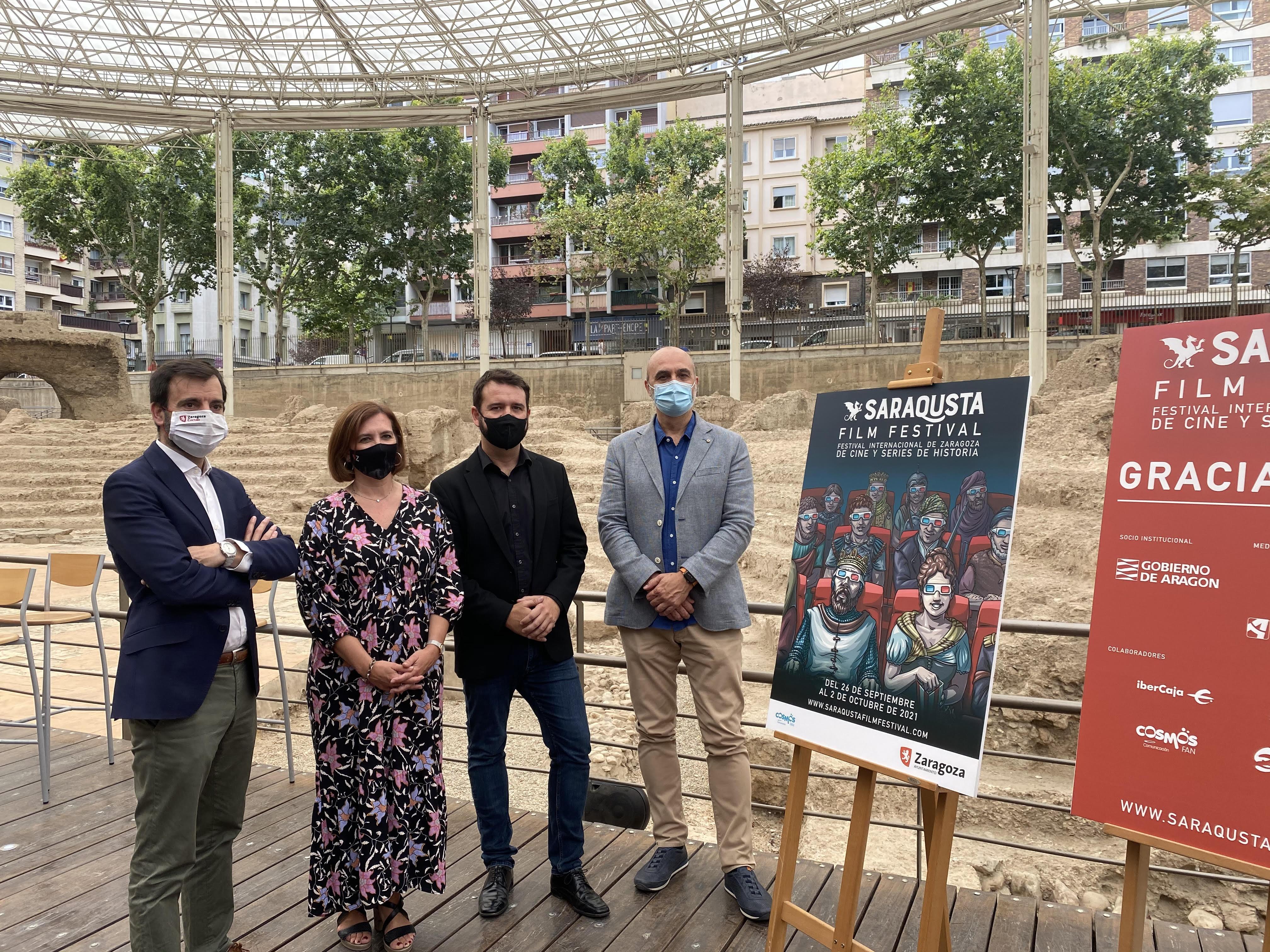 La ciudad de Zaragoza acoge la primera edición del Saraqusta Film Festival