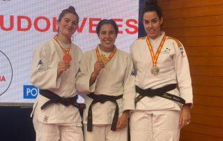 Marina Garriga, Elena Catalán y Susana Tafalla se alzaron con la medalla de oro, plata y bronce, respectivamente.